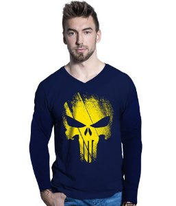Camiseta Manga Longa Punisher