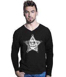 Camiseta Manga Longa US Marshal