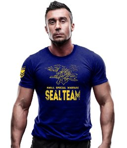 Camiseta Estampada Navy Seals Warfare
