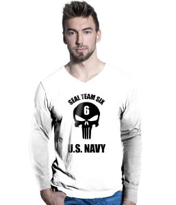 Camiseta Manga Longa Seal Team Six Punisher