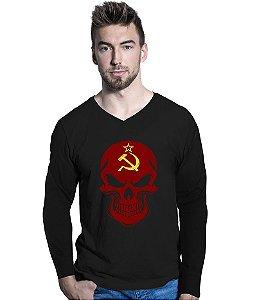 Camiseta Manga Longa Russia