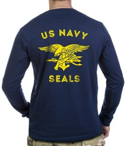 Camiseta Manga Longa US Navy Seals