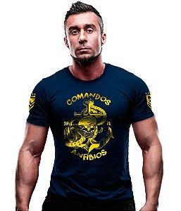 Camiseta Estampada Comandos Anfíbios