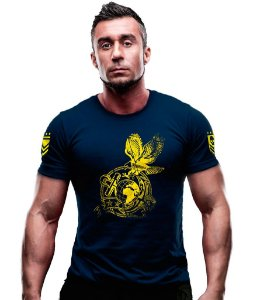 Camiseta Estampada Marines