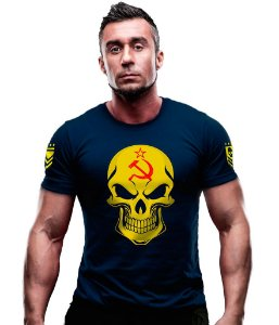 Camiseta Estampada Russia