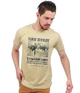 Camiseta estampada U.S Marine Corps