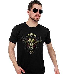 Camiseta Estampada Military Wear