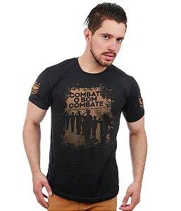Camiseta Estampada Combate