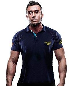 Camisa Gola Polo TeamSix Navy Seals US Marines