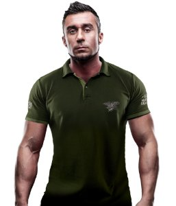 Camisa Gola Polo TeamSix Navy Seals
