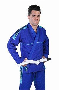 Kimono Trançado Azul