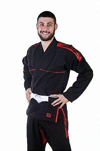 Kimono Trançado Preto