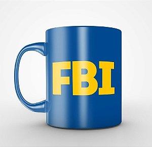 Caneca FBI