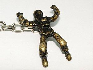 Chaveiro de Metal Soldado - Bronze