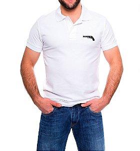 Camisa Masculina Gola Polo Branca Magnum 44