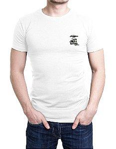 Camiseta Bordada Mercenários Branca