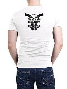 Camiseta Bordada Magnum 44 Branca