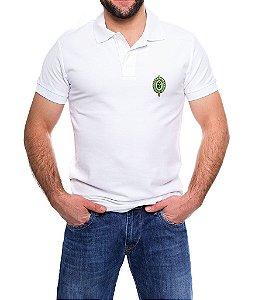 Camisa Gola Polo Branca Exército Brasileiro - Tradicional