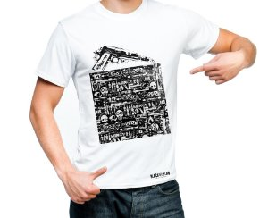 Camiseta Estampada - 1911