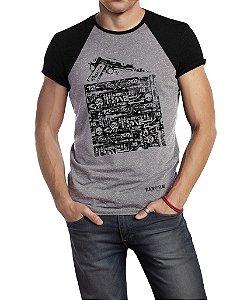 Camiseta Estampada - 1911 Duas Cores