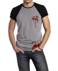 Camiseta Estampada -Blood Duas Cores