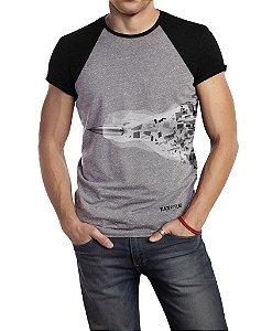 Camiseta Estampada - Projetil
