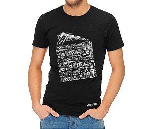 Camiseta Estampada - 1911 Preta