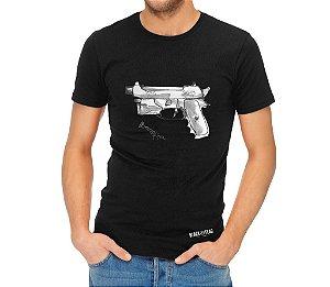 Camiseta Estampada - Beretta Preta