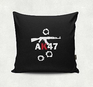 Almofada Bordada - AK 47
