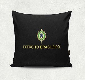 Almofada Bordada - Exército Brasileiro