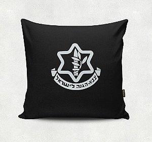 Almofada Bordada -Israel Defense