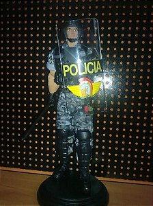 Boneco Policial de Choque