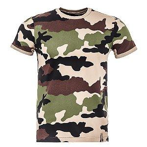 T-Shirt Tech Camuflado Francês