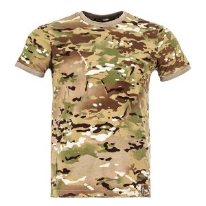 T-Shirt Tech Camuflado Multicam
