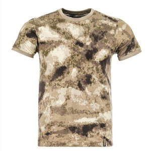 T-Shirt Tech Camuflado A-Tacs AU