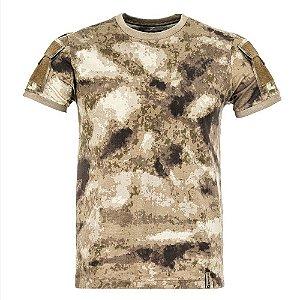 T-Shirt Army Camuflado A-Tacs AU