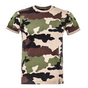 T-Shirt Army Camuflado Francês