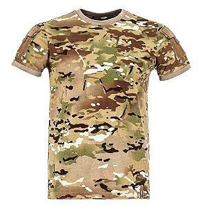 T-Shirt Army Camuflado Multicam
