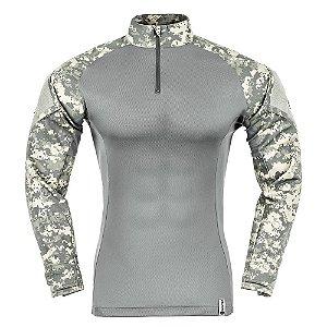 Combat Shirt Camuflado Digital Açu (PRÉ-VENDA)