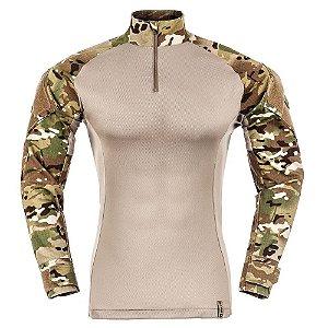 Combat Shirt Camuflado Multicam