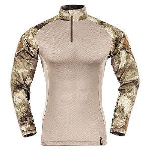 Combat Shirt Camuflado A-Tacs AU (PRÉ-VENDA)