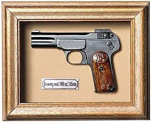 Quadro Browning Mod 1900