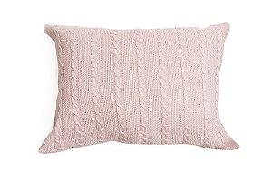 Porta Travesseiro M Trança Rosa