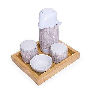 Kit Higiene Cinza