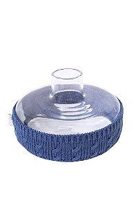 Garrafa Bojuda Azul