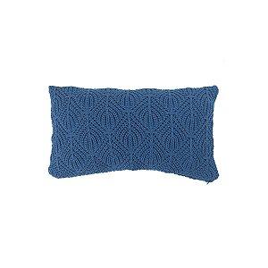 Almofada Rim Cocar Azul Naval