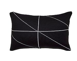 Almofada Rim Linhas Preto e Branco