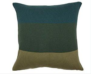 Almofada Faixas Verde