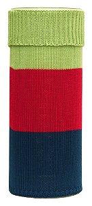 Cilindro Médio Verde Rosa e Azul