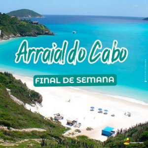 ARRAIAL DO CABO - RJ (FINAL DE SEMANA)